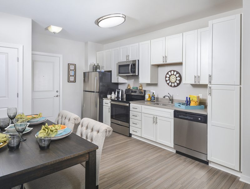 Premium Open Kitchens and Floor Plans