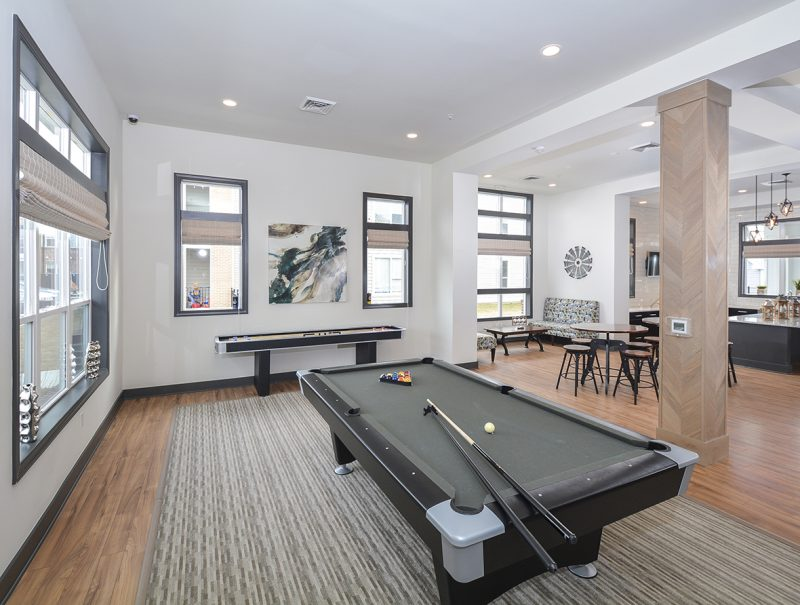 Gaming Room with Billiards