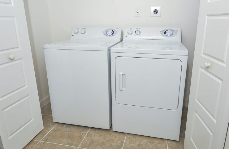 full size washer and dryer