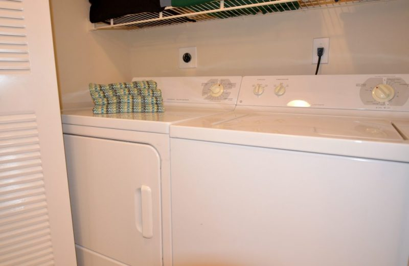 Washer and dryer in each home