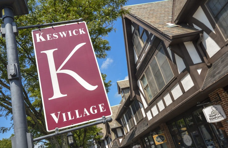 Nearby Shopping at Keswick Village