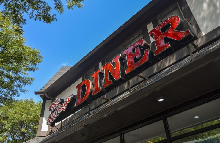 nearby: the village diner