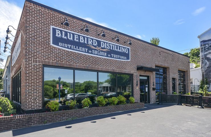 Nearby: Bluebird Distilling