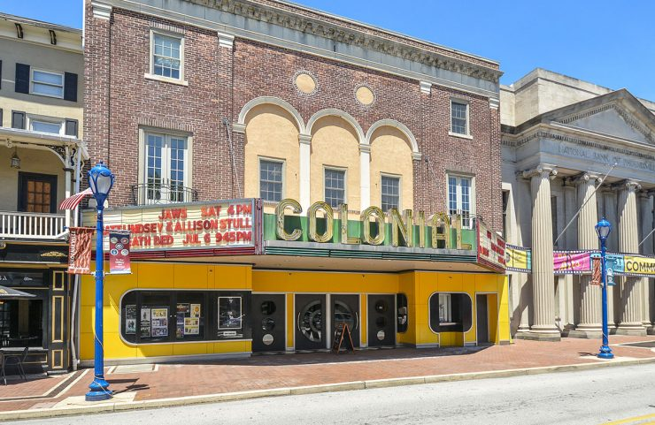 Nearby: Colonial Theatre