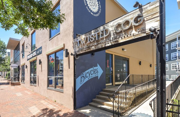 Nearby: Twisted Cog Bike Shop