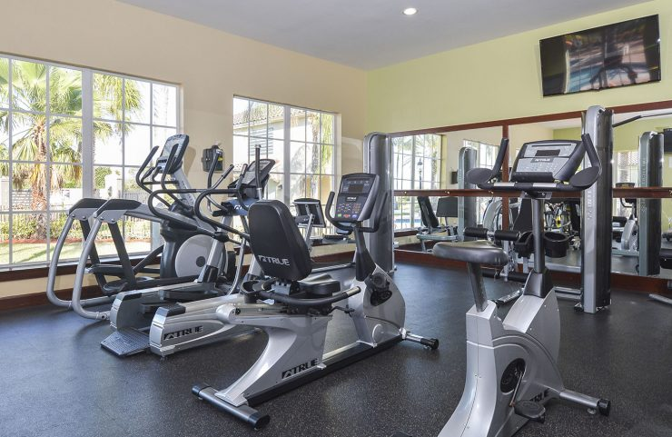 gym and cardio equipment