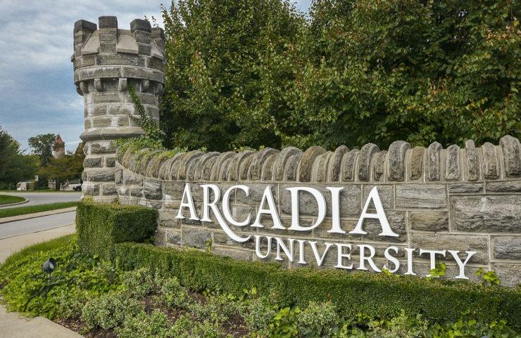 nearby: arcadia university