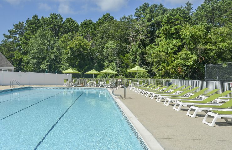 lounge by the pool in mays landing