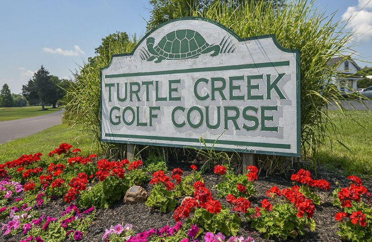 Nearby: Turtle Creek Golf Course signage