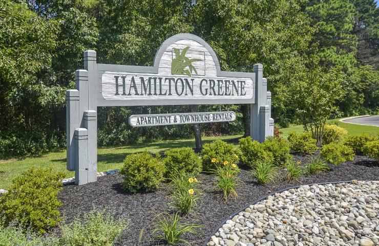 hamilton greene signage