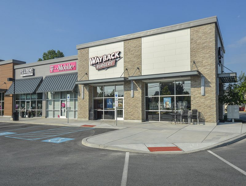 On-Site Retail Access to: Dunkin Donuts, Wayback Burgers, Pet Valu, T-Mobile, Rebel Hill Brewery, Stride Spin & Fitness Studio and California Tortilla.