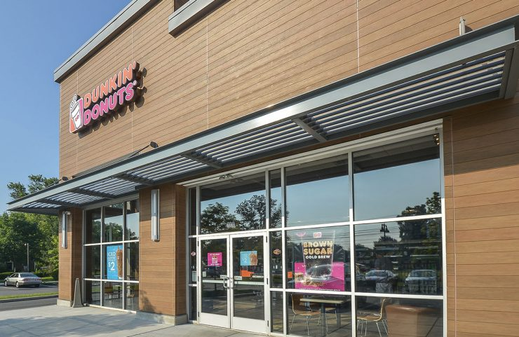 On-site: Dunkin Donuts