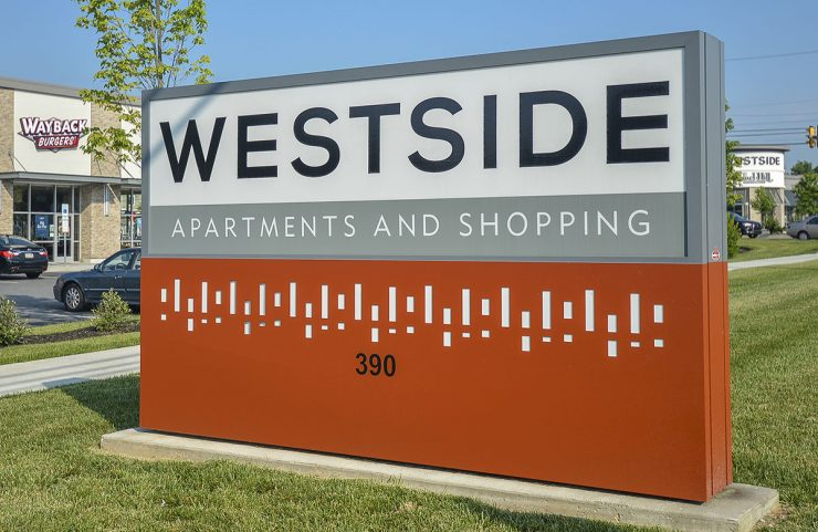 westside signage - apartment in phoenixville
