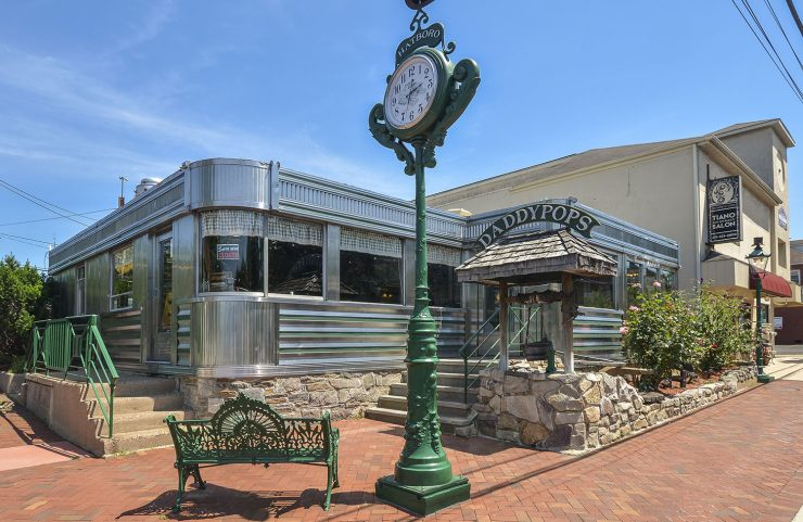 nearby: daddypops diner on main street hatboro