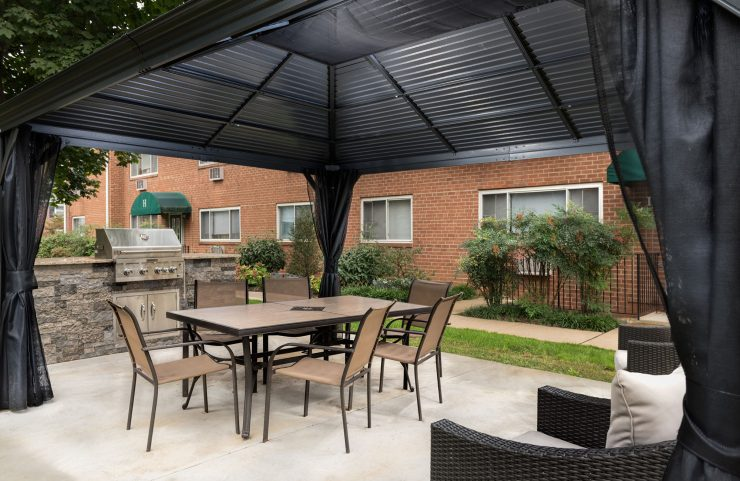 apartments with grills in abington, pa