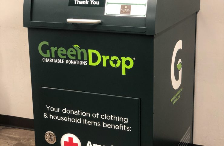 On-Site Green Drop Donation Box