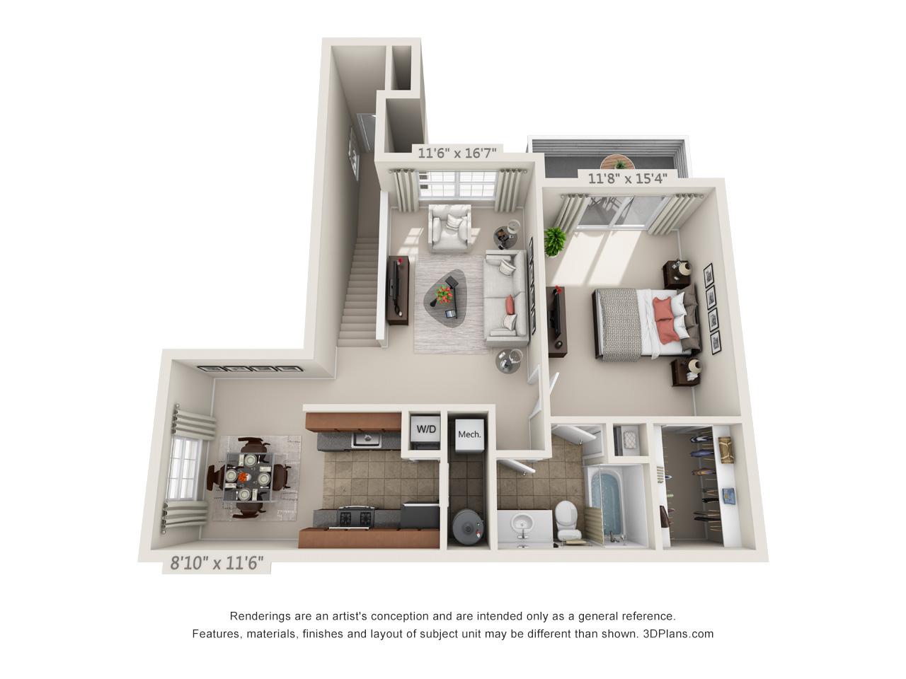 1 bedroom apartment in mays landing nj - atlantic county