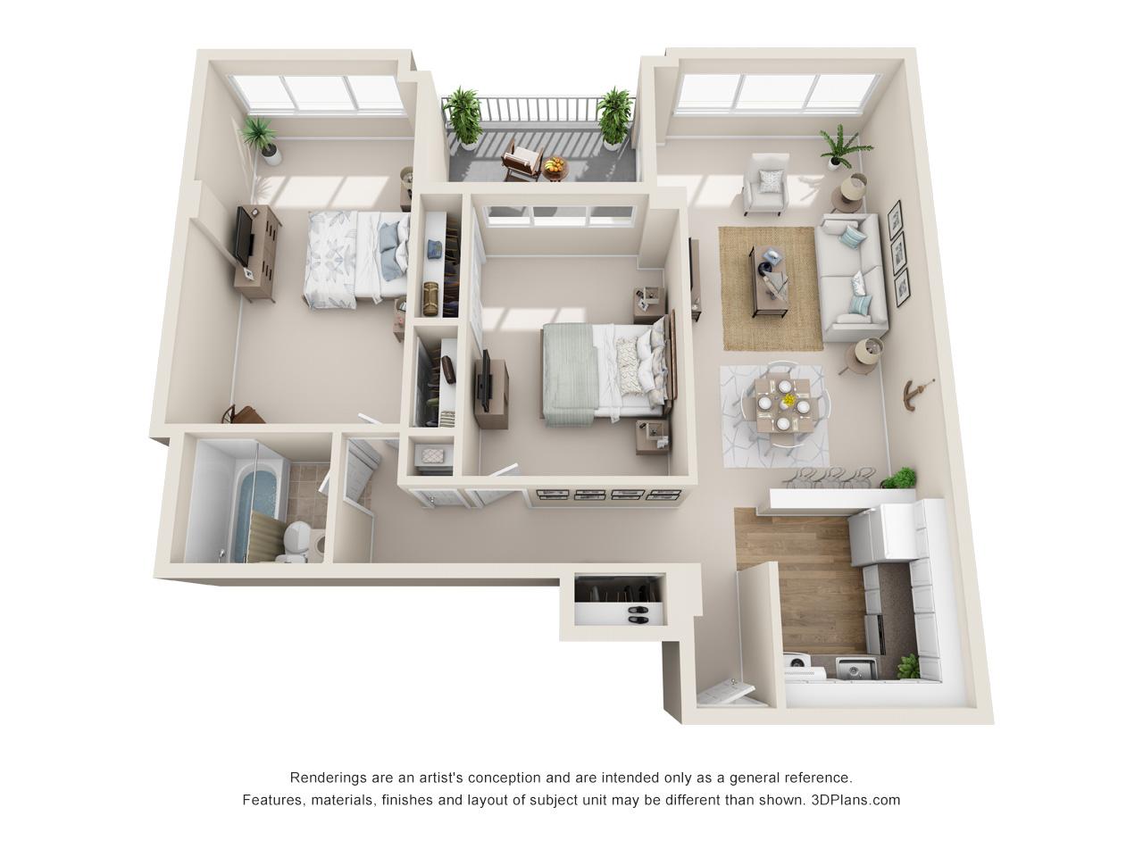 2 bedroom apartments in norristown