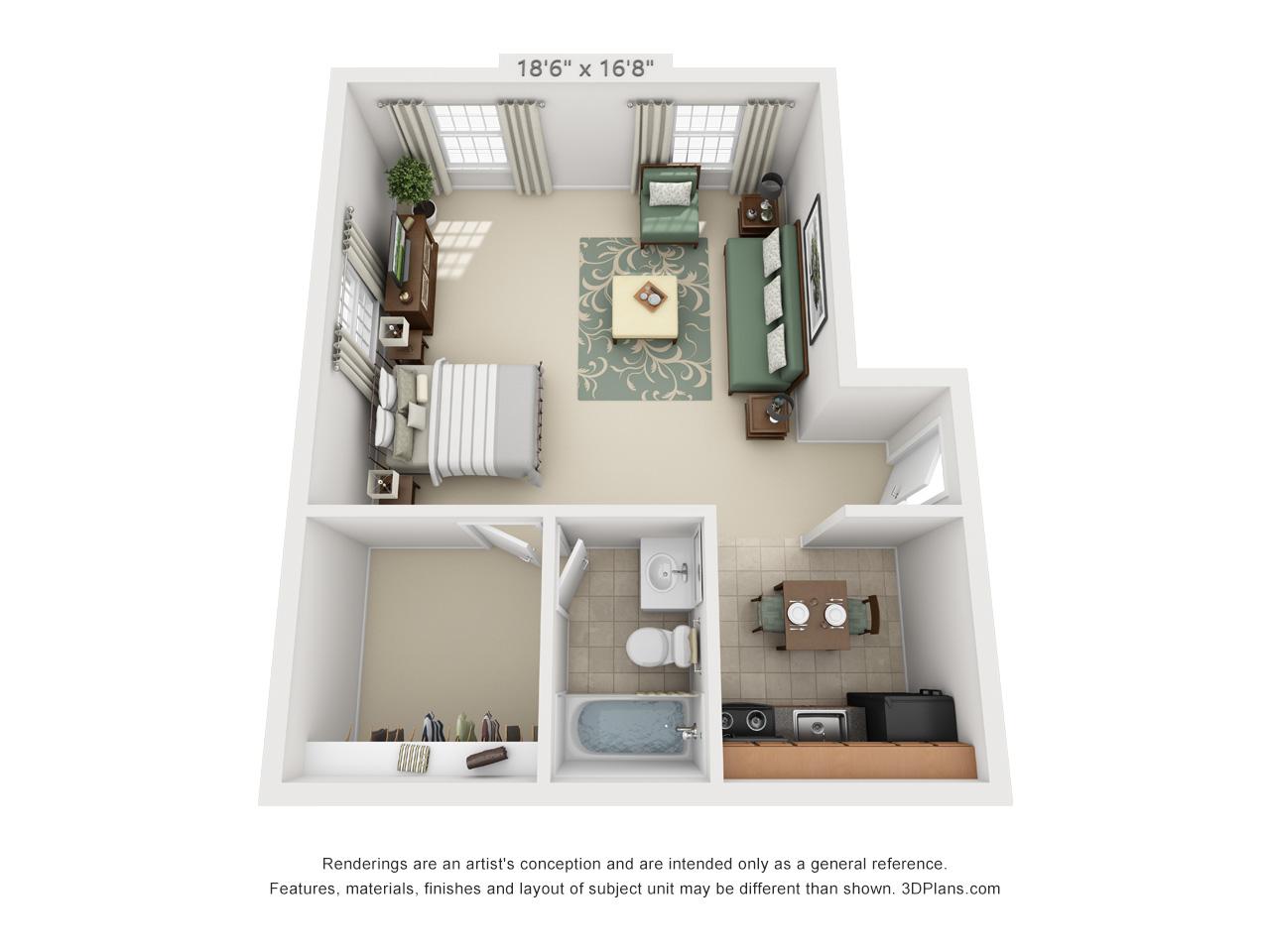 studio apartments in hatfield pa