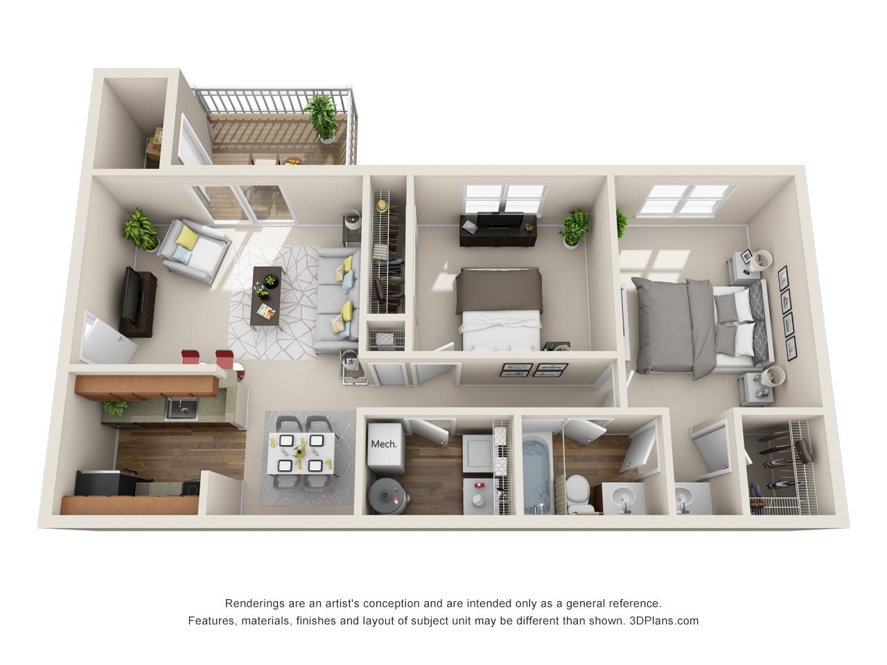 marlton 1 bedroom apartment