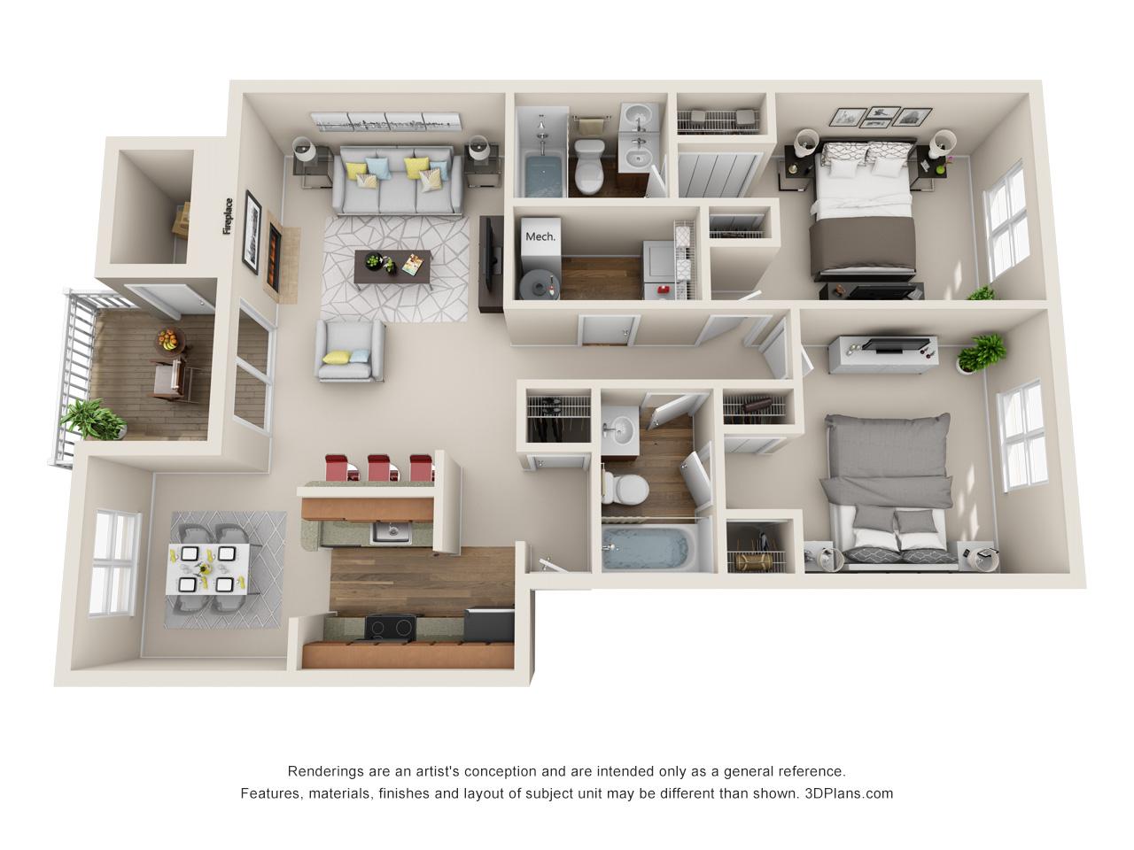 2 bedroom apartment in marlton nj