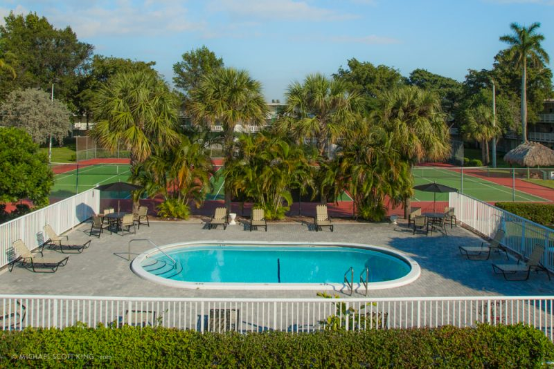 Two Outdoor Pools