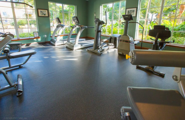 vast gym with cardio and strength training