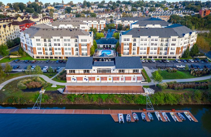 apartments on the Schuylkill River