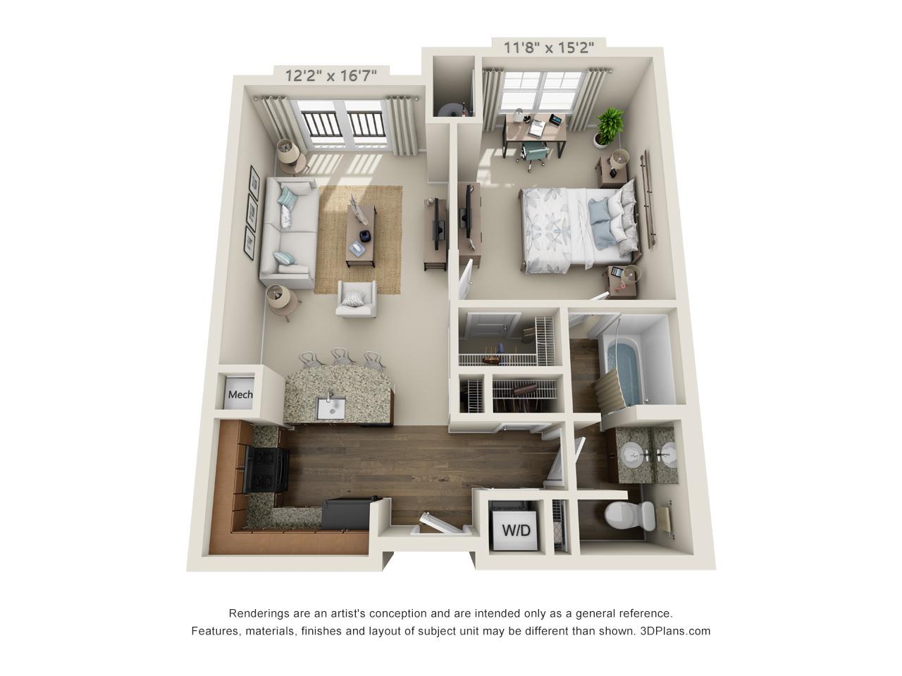 1 bedroom apartment in conshohocken