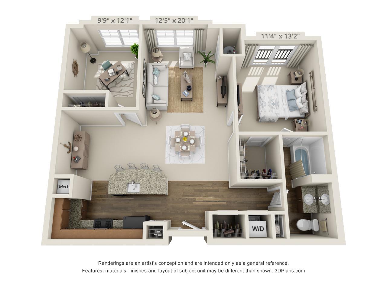 1 bedroom conshohocken apartment rental