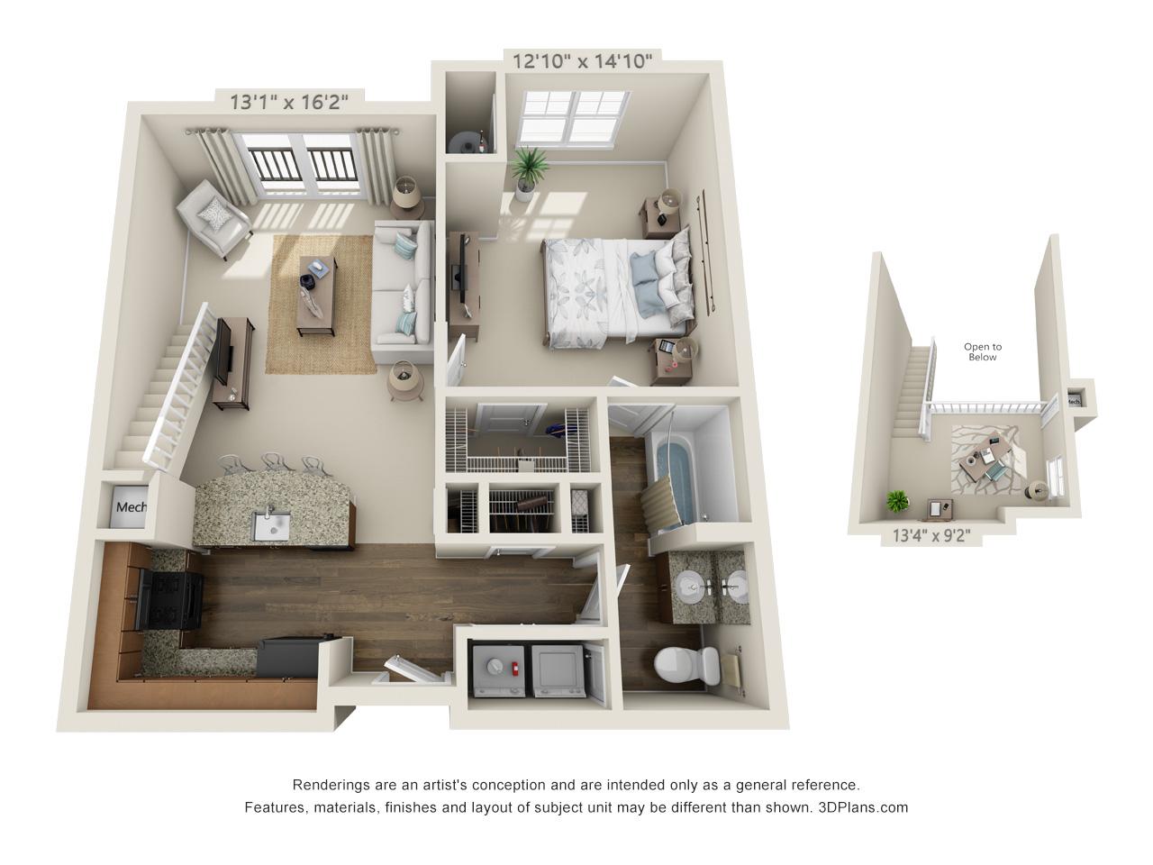 one bedroom apartment in conshohocken