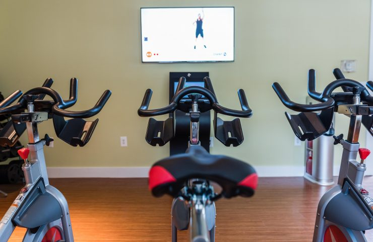 conshy rentals with spin classes