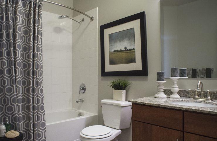 vanity lighting in bathroom