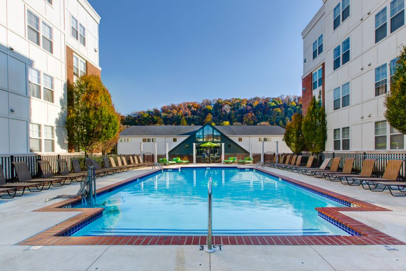 Resort-Style Outdoor Pool with Sundeck
