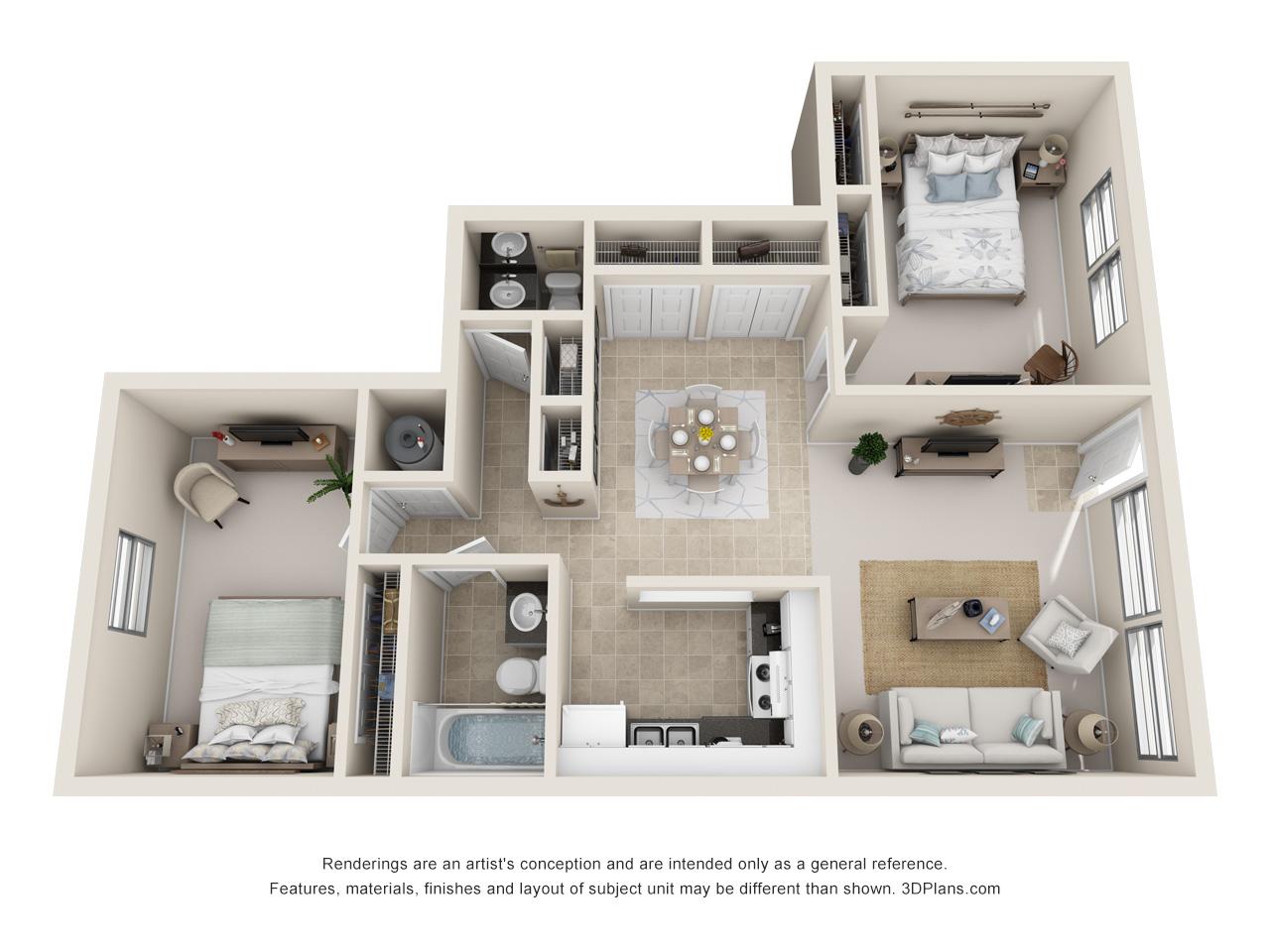 2 bedroom fort lauderdale apartment
