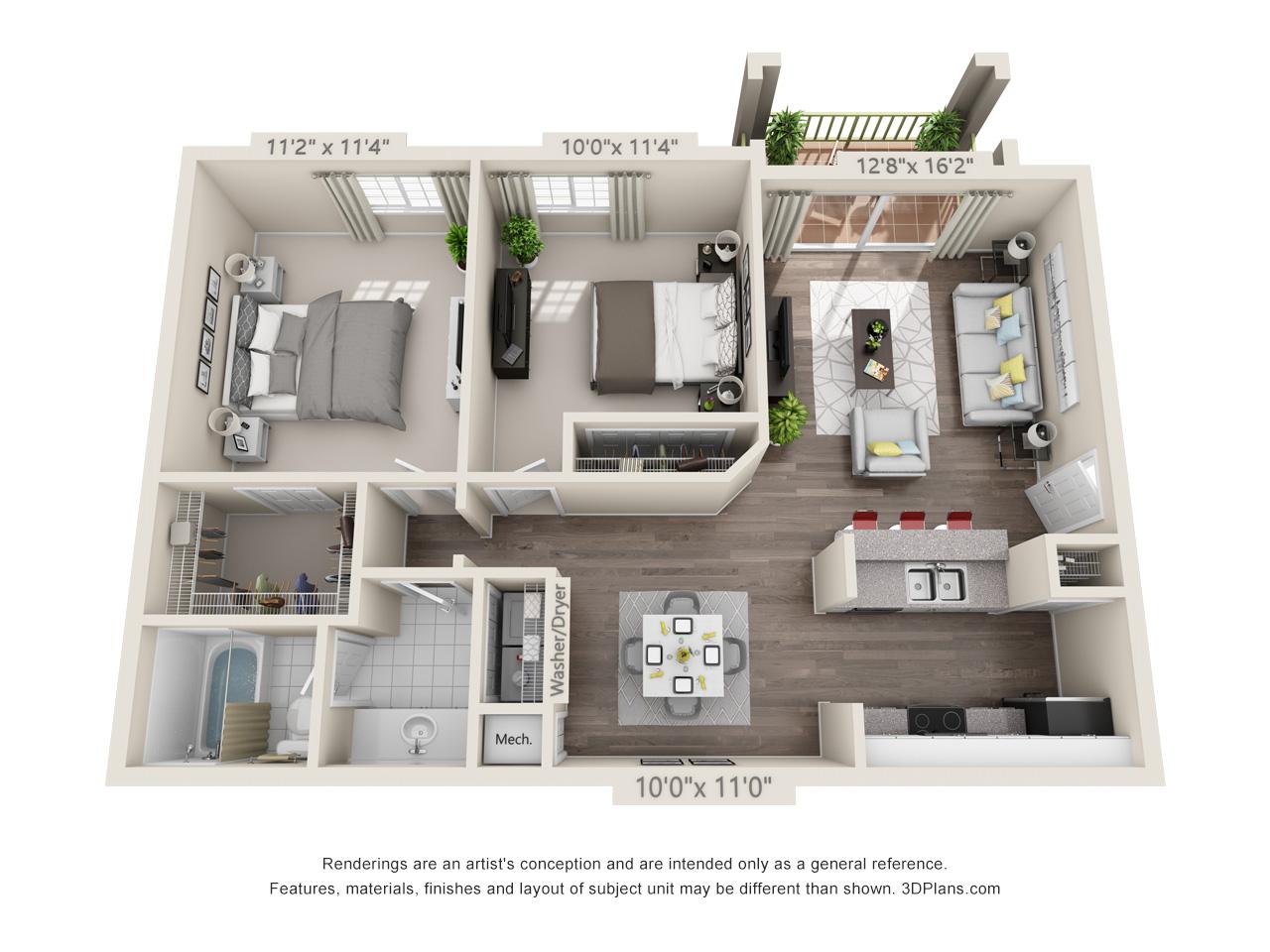 2 bedroom apartment pompano beach