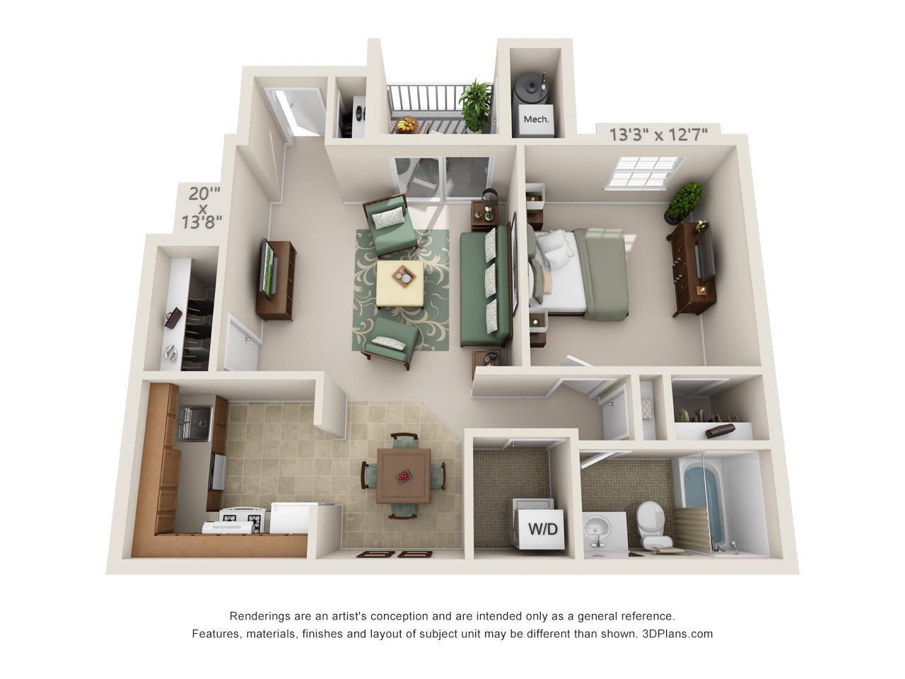 one bedroom mount laurel apartments