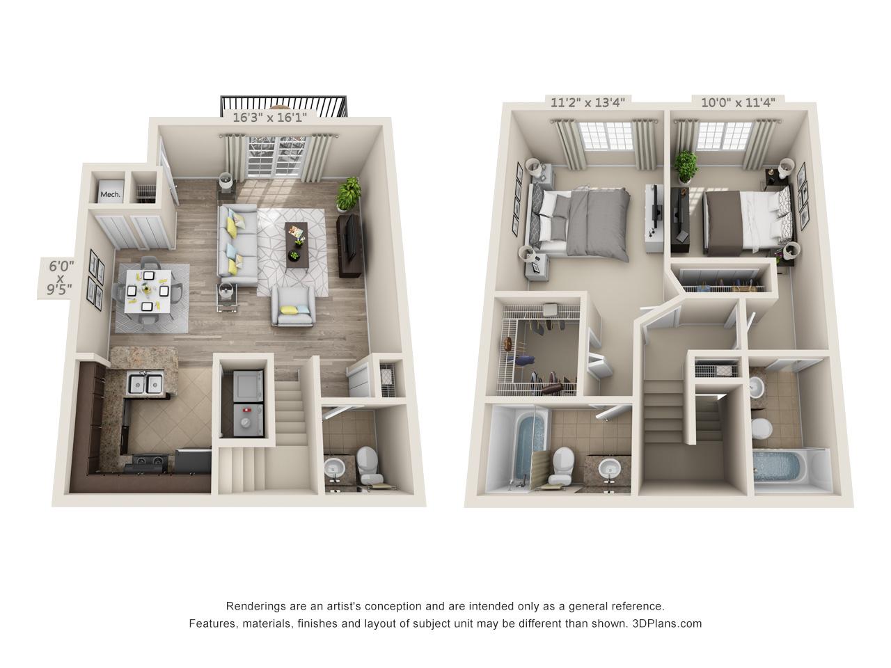 2 bedroom apartments - deerfield beach