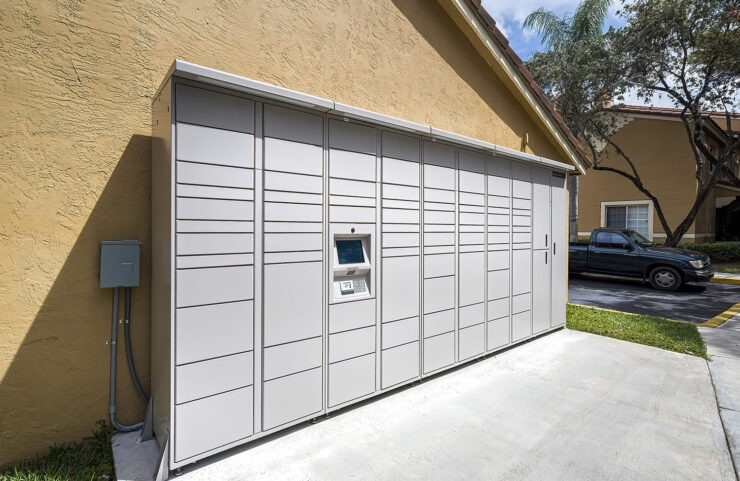 delivery package lockers