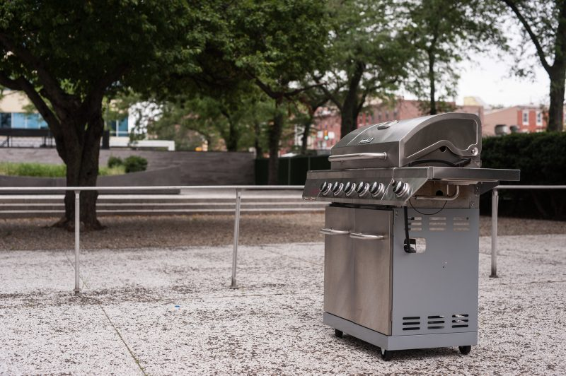 Outdoor Grilling Space