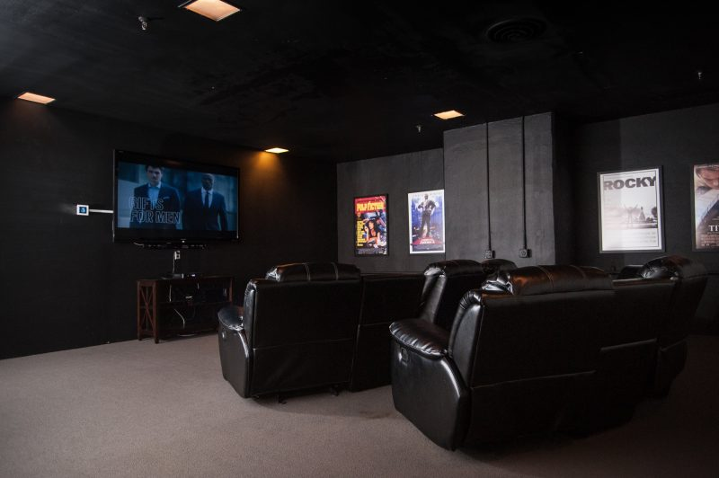 24 Hour Theatre Room