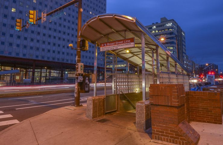 Right Outside: Broad Street Line Subway System