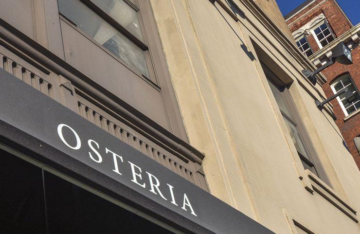Nearby Italian Restaurant: Osteria