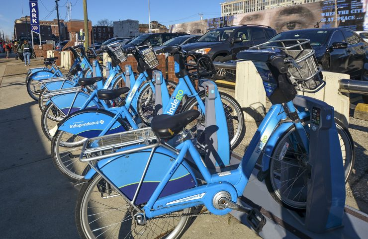 Nearby Bike Share: Indego
