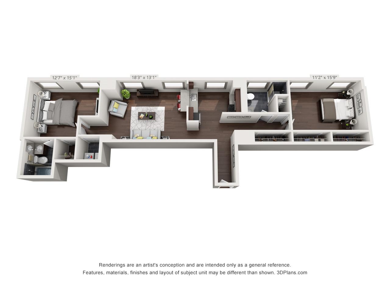 2 bedroom apartments in fairmount philadelphia