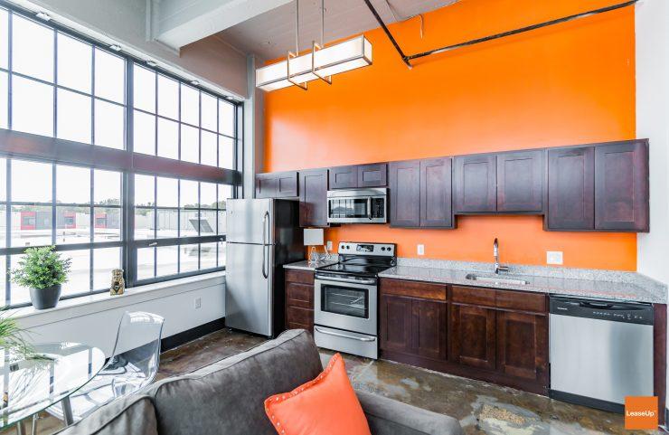 apartment complex in brewerytown