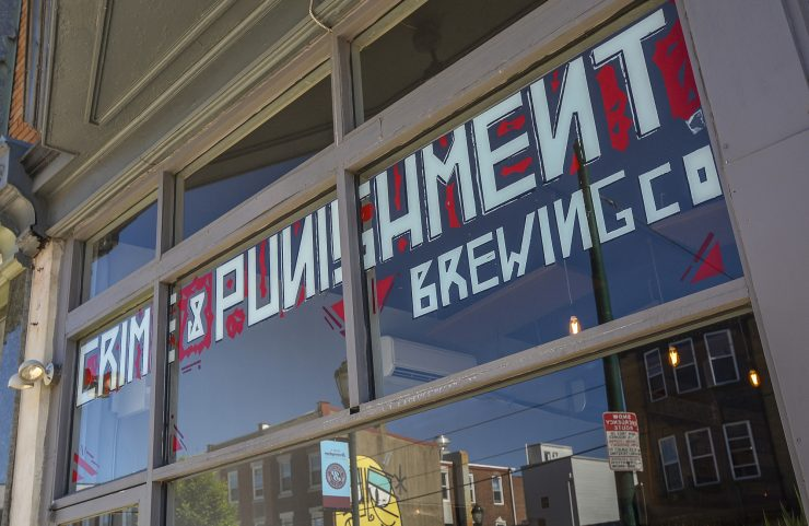 Nearby: Crime & Punishment Brewing Co.