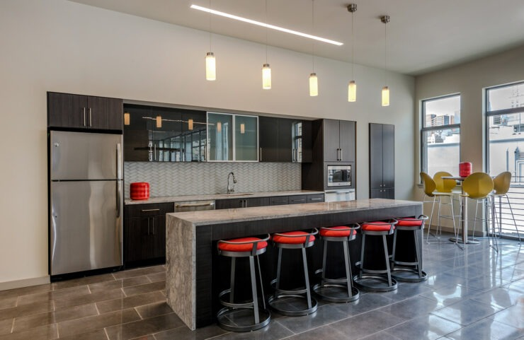 Recreation Room Kitchen Area