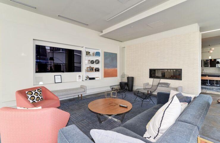 Recreation Room TV Area