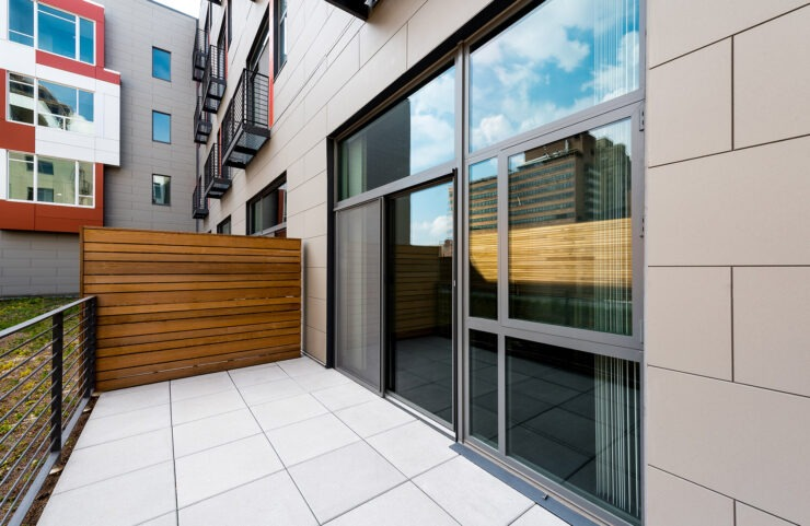Private Terrace & Juliet Balconies